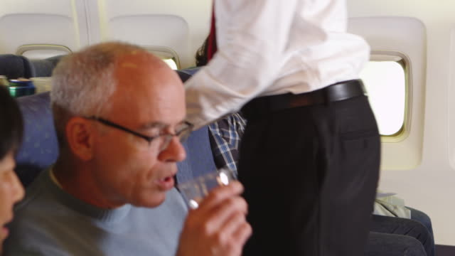 Drinks on a plane video