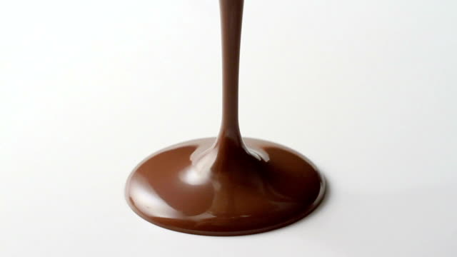 Dripping chocolate video
