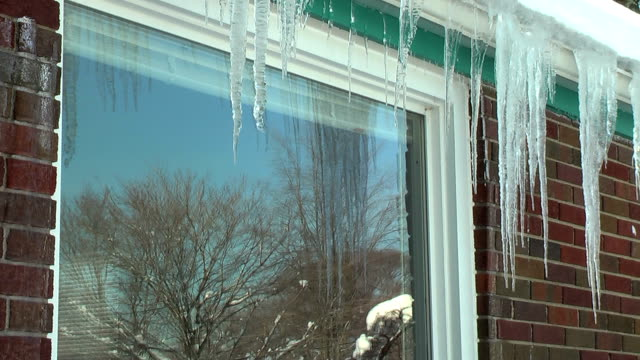Dripping Icicles (HD) video