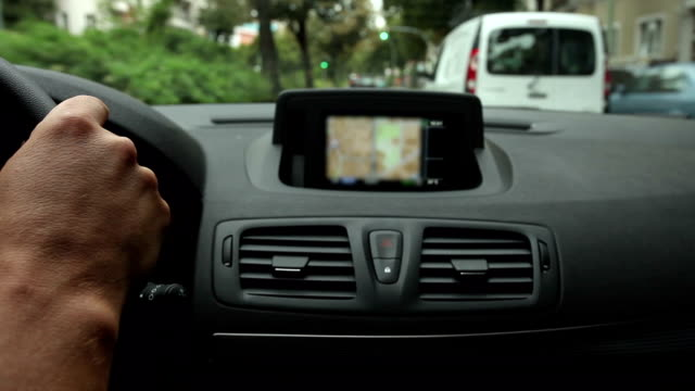 Drive with Navigation System, Real Time video