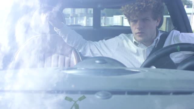 Driver in car video