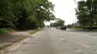Driving 02 suburban streets video