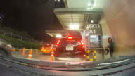 Driving a car time-lapse. video