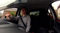 Driving a small car video