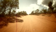 HD TIME LAPSE: Driving Across The Australian Outback video