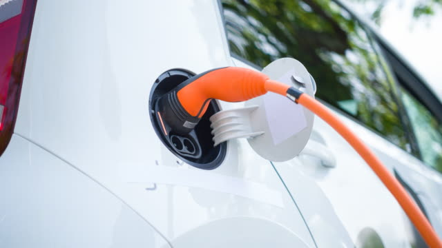 Driving an electric vehicle, saving the environment and making a difference video