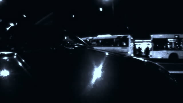 HD TIME-LAPSE LOOP: Driving At Night video