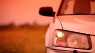 Driving away video