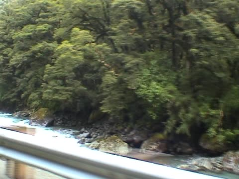 Driving by a creek video