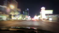 Driving down the Las Vegas Strip video