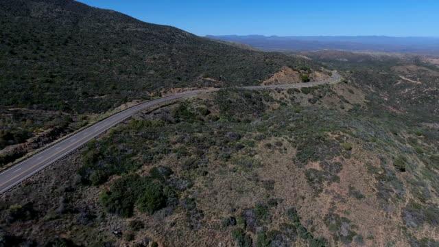 Driving in a desert landscape video