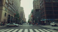Driving in New York city video