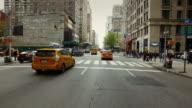 POV Driving in New York city video