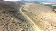 Driving in solitude through the desert video