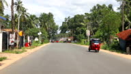 Driving in Sri Lanka rural areas video