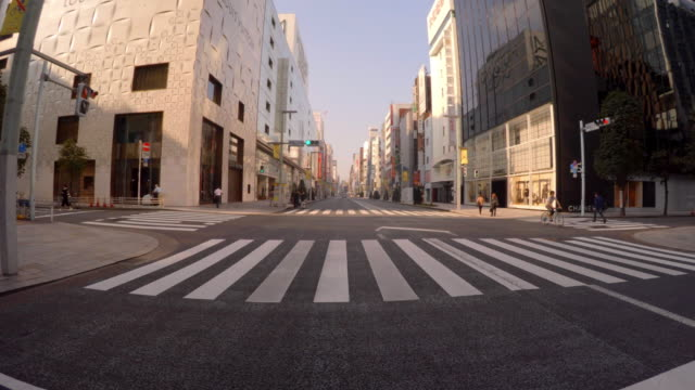 Driving in the city -Ginza -4K- video