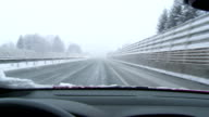 Driving In The Snow video