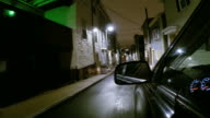 Driving in the Southie neighborhood of Boston video