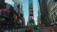 Driving in Times Square, new York City video