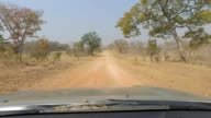 4K: Driving in Zambia POV and Looking Back video