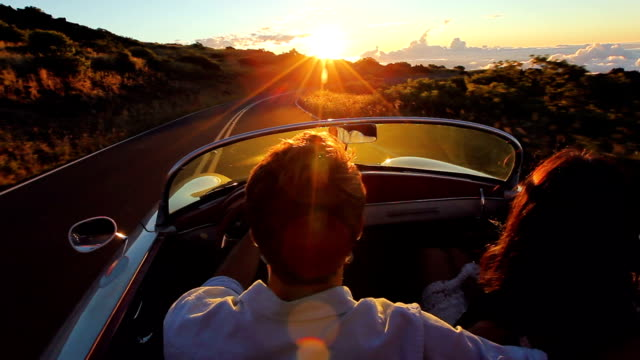 Driving into the Sunset video