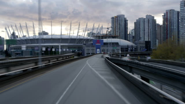 Driving into Vancouver - Time-lapse video