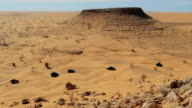driving off-road car in the sahara desert video
