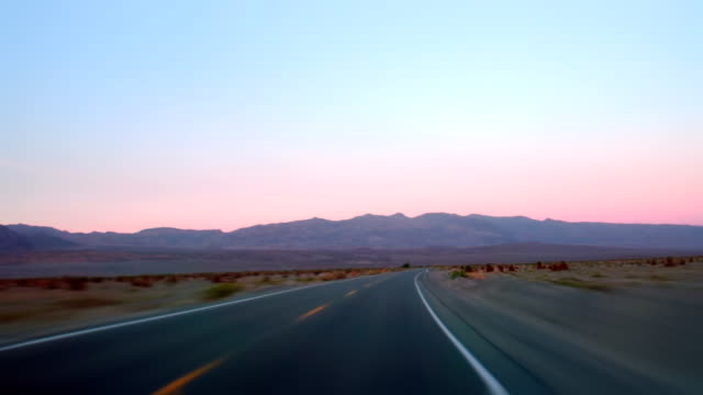 Driving on Highway 190 video