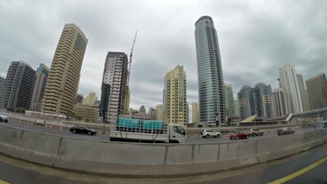 Driving on Sheikh El Zayed Road - Dubai video