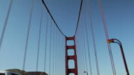 Driving on the Golden Gate Bridge video