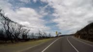 POV driving on the Great Ocean Road video
