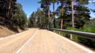 driving rural road video