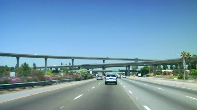 Driving Through 4 Highway Bridges video