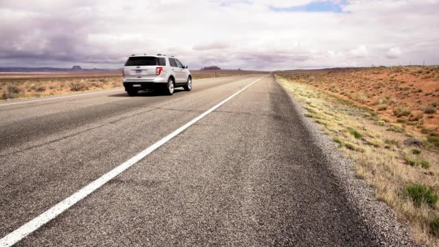 DS SUV driving through a desert video