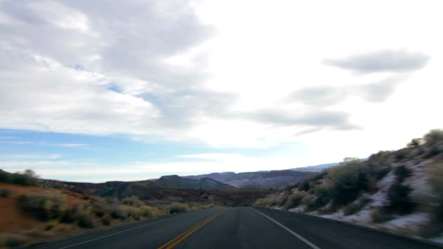 Driving Through Arches National Park video