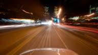 HD 1080 - POV driving through city video