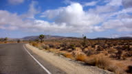 Driving through Joshua Tree National Park video