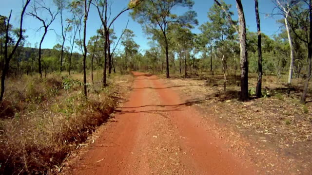 HD: Driving Through Outback video