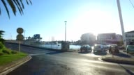Driving through Sete in southern France video