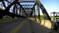 Driving through the bridge video