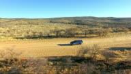 Driving through the desert wilderness video