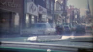 1973: Driving through the streets of Georgetown area in DC. video