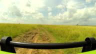 TIME LAPSE: Driving through vast African safari video