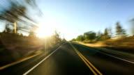 Driving Time Lapse Oregon Desert video