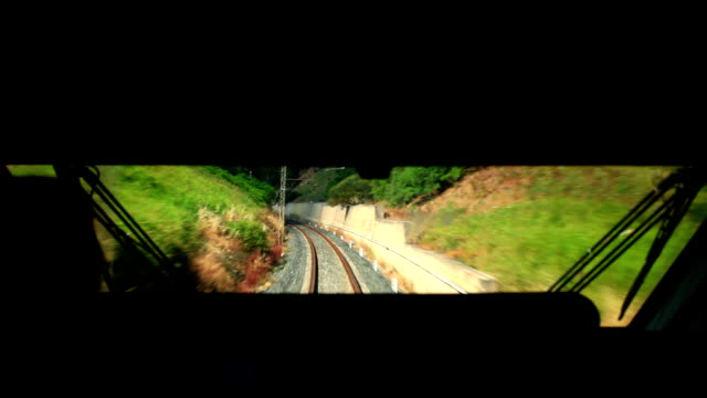 driving train in sicily video