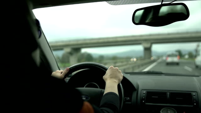 HD SLOW: Driving under the bridge in slow motion video