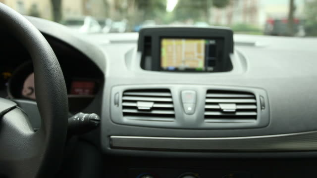 Driving with Navigation System video