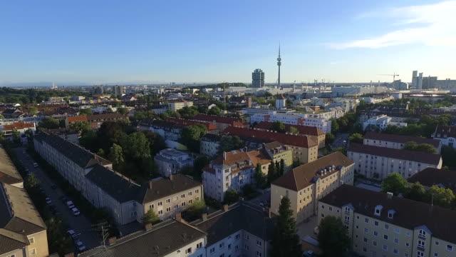 Drohnenaufnahme München Luftaufnahme München Aerial Shot Munich München von oben video