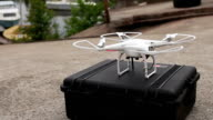 drone flies up video
