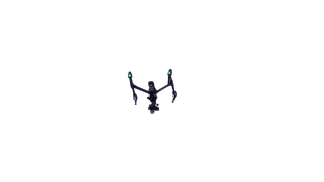 drone flying video